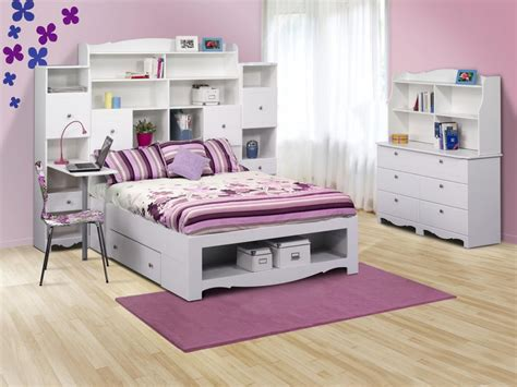 Single Bed With Bookcase Headboard Cheerful Kids Room