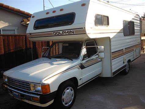 toyota motorhome 1986 toyota dolphin motorhome for sale in san jose south ca