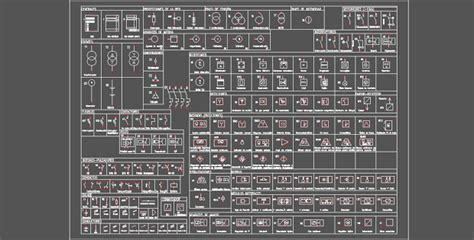 electrical symbols free dwg in autocad 187 cadsle