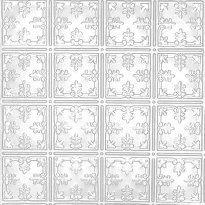 white tin ceiling tiles home depot shanko 2 ft x 2 ft lay in suspended grid tin ceiling