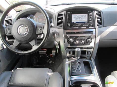 jeep grand cherokee dashboard 2006 jeep grand cherokee srt8 medium slate gray dashboard