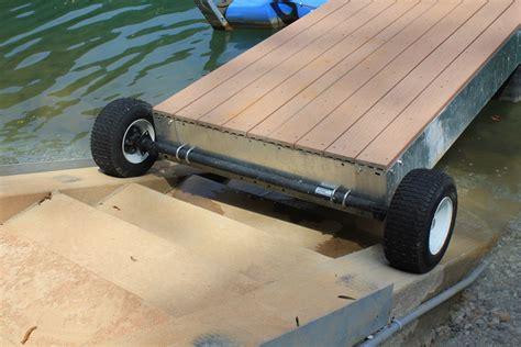 Floating Boat Dock Wheels by Accessories Lifetime Docks