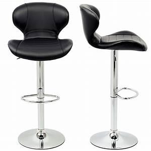 Bar De Cuisine Pas Cher : tabouret de bar noir chaise de bar pas cher tabouret ~ Premium-room.com Idées de Décoration
