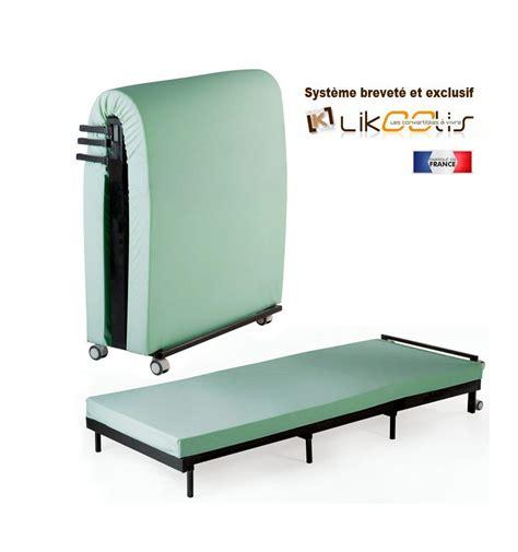 dimension canapé lit lit pliant 1 place lit d appoint le plus compact pour adulte