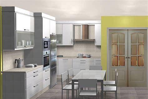 cocina  isla planos de casas modernas