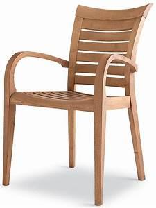 Chaise Fauteuil Avec Accoudoir : mirage b fauteuil pour jardin en bois robinier sediarreda ~ Melissatoandfro.com Idées de Décoration