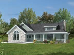 ranch house with wrap around porch summerplace bungalow house plan alp 09gx chatham