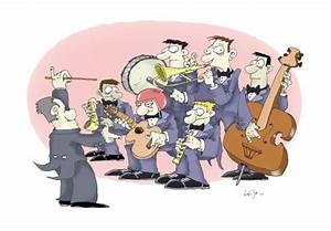 Band By Luiso | Media & Culture Cartoon | TOONPOOL