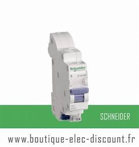 Disjoncteur Schneider 16a : disjoncteur 16a ss vis r f 16726 schneider materiel ~ Melissatoandfro.com Idées de Décoration