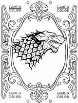 Thrones Coloring Ausmalbilder Printable Kleurplaat Template Malvorlage Malvorlagen Imgur Getcolorings Impressive sketch template