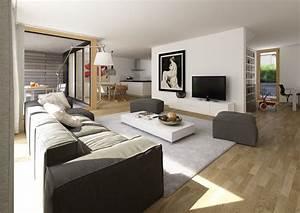 Bilder Im Wohnzimmer : wohnzimmer mit kuche zusammen raum und m beldesign inspiration ~ Sanjose-hotels-ca.com Haus und Dekorationen
