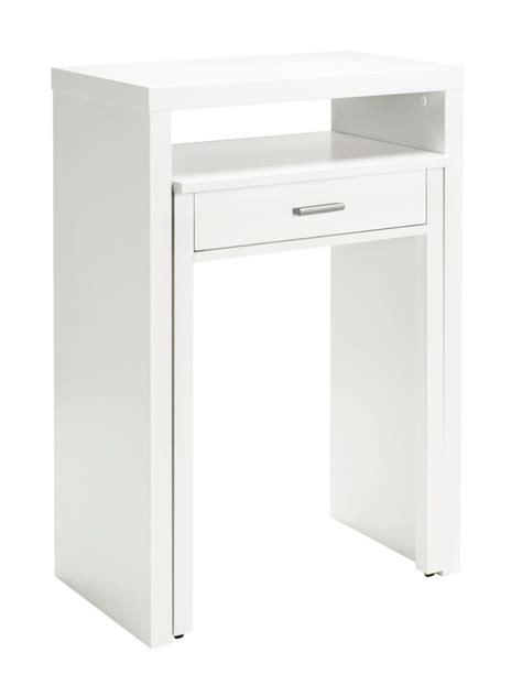 bureau gigogne bureau gigogne en bois un tiroir helline