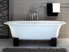 Freestanding Bath Tub by Triangle Re Bath Asia Freestanding Bathtub With Black Resin Cradles BT25 1000