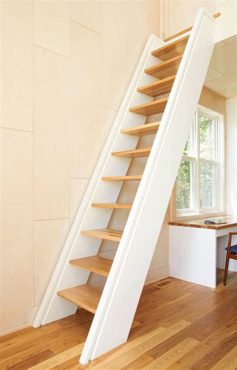 stairs to attic 13 stair design ideas for small spaces contemporist