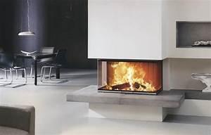 Poele Electrique Effet Feu De Bois : cheminee foyer ouvert ou insert ~ Dailycaller-alerts.com Idées de Décoration