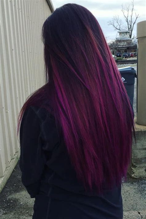 33 Cool Ideas Of Purple Ombre Hair Purple Ombre Ombre