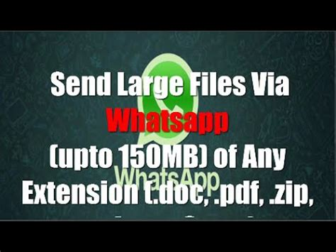 how to send from iphone without losing quality how to send large files with whatsapp of any extension