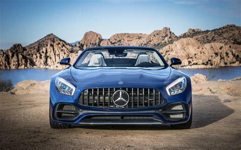 Mercedes Amg Gt Roadster 2017 4k Wallpapers Hd