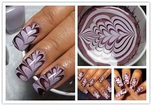Marble Nail Art Tutorial - AllDayChic