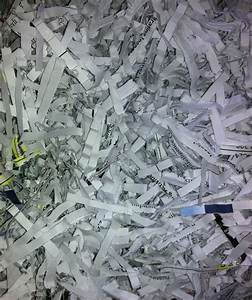 sensitive data on parade a look at the macy39s With shredded documents reconstruction