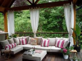 fabrics and home interiors outdoor curtains for porch and patio designs 22 summer decorating ideas