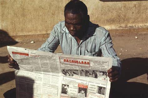 african media breaks culture  silence africa renewal