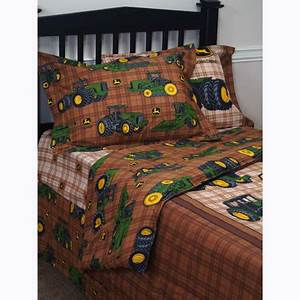 John Deere Traditional Bed Skirt