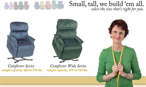 Bariatric Lift Chair Canada by The Comforter Heavy Duty Lift Chair Series