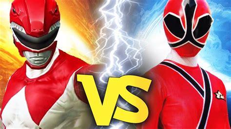 Power Rangers: Legacy Wars #38 - Red Ranger (MMPR) VS Red ...
