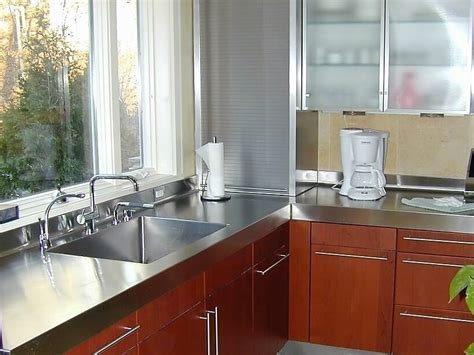 how to buy a stainless steel kitchen sink stainless steel countertop custom 9697
