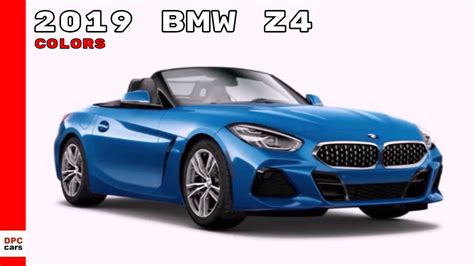 2019 Bmw Colors by 2019 Bmw Z4 Colors