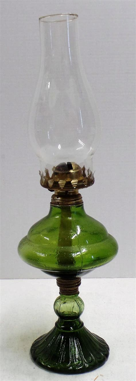 vintage green oil l vintage green glass oil l marked quot made in hong kong quot