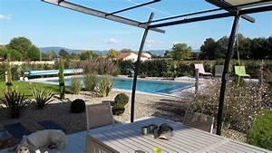awesome amenagement terrasse piscine ideas design trends With eclairage exterieur maison contemporaine 10 piscine et amenagement carquefou contemporain terrasse