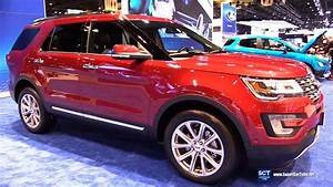 Ford Explorer 2017 : 2017 ford explorer limited exterior and interior walkaround 2017 chicago auto show youtube ~ Medecine-chirurgie-esthetiques.com Avis de Voitures