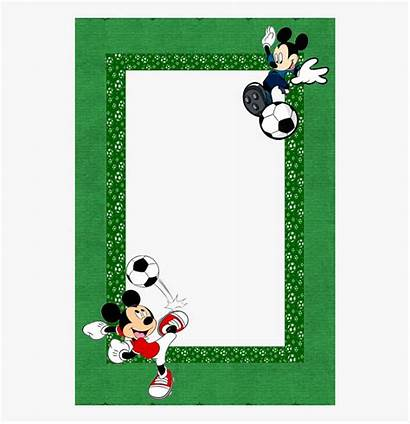 Mickey Mouse Border Clipart Borders Paper Frames