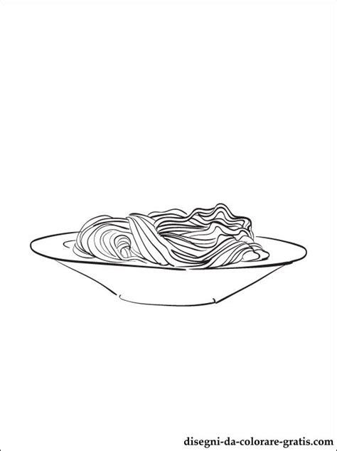 disegno  pasta  pasta alimentare da stampare disegni da colorare gratis