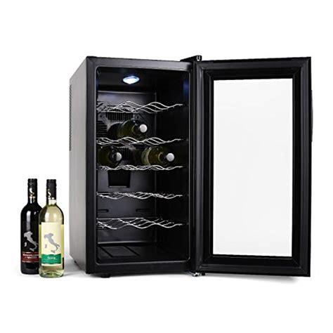 klarstein vivo vino cave 224 vins 18 bouteilles avec lumi 232 re led 52l 18 bouteilles 11 176 224 18 176 c