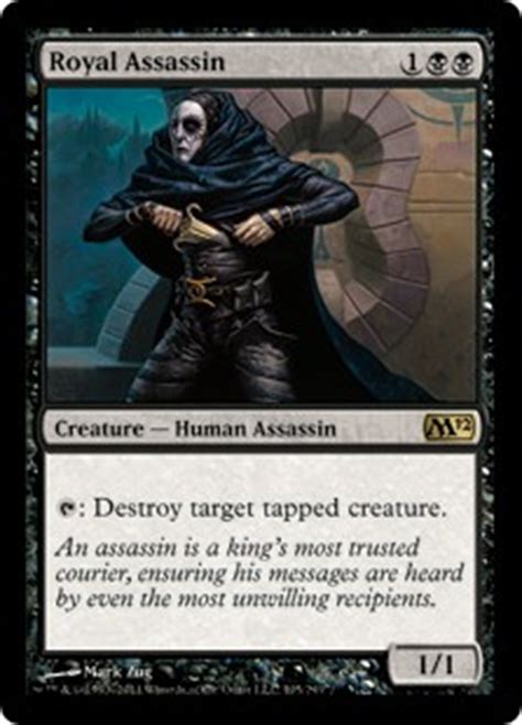 Mtg Assassin Deck List by Royal Assassin Magic 2012 Gatherer Magic The Gathering