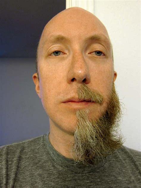 beard shaving half beard strange shave guys pictures photos pics images 7