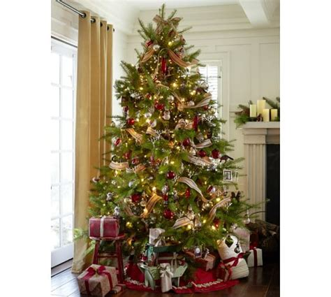 Pottery Barn Trees by Twelve Days Of Ornaments Set Of 12 Pottery Barn