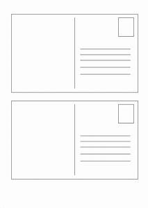 5x7 postcard template for word free postcard templates With avery 5x7 template