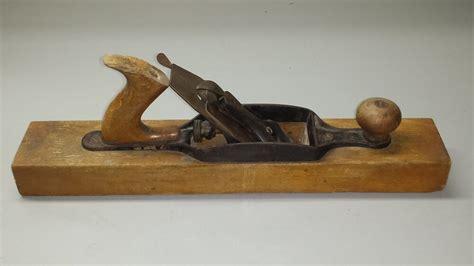 vintage  ss siegley wood plane ebay