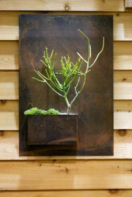 green ideas  modern wall decoration original vertical