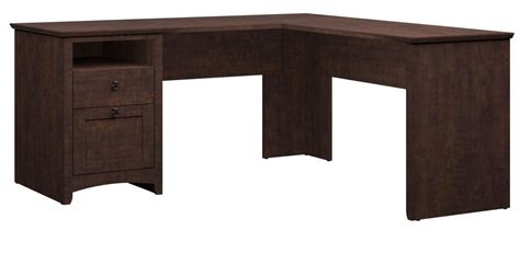 desk with storage cubes buena vista cherry l desk with hutch 6 cube