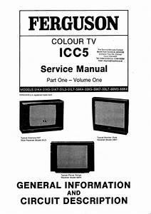 Ferguson 51l5bq Colour Television Service Manual Download