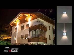 Illuminazione LED per Esterni: Lampade da incasso e da parete (2014) YouTube