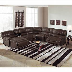 12 best collection of 6 piece leather sectional sofa for Ameri sofa dark brown 6 piece leather sectional couch