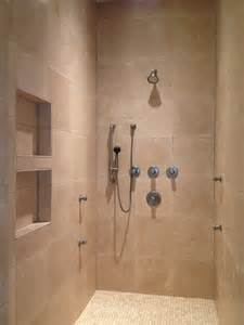 wainscoting ideas for bathrooms travertine walk in shower bathroom remodel in the woodlands tx bathroom remodeling in