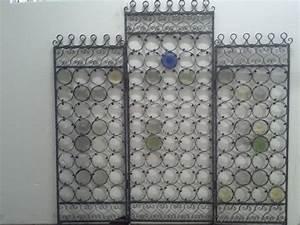 Raumteiler Aus Glas : raumteiler aus schmiedeeisen mit farbigem glas handgemacht trennw nde wohnaccessoires ~ Frokenaadalensverden.com Haus und Dekorationen