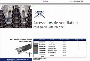 Ventilation d'un toit cintré en zinc joints debouts 7 messages